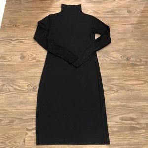 NWOT Club Monaco Midi mock neck Dress sz 4 ~$149